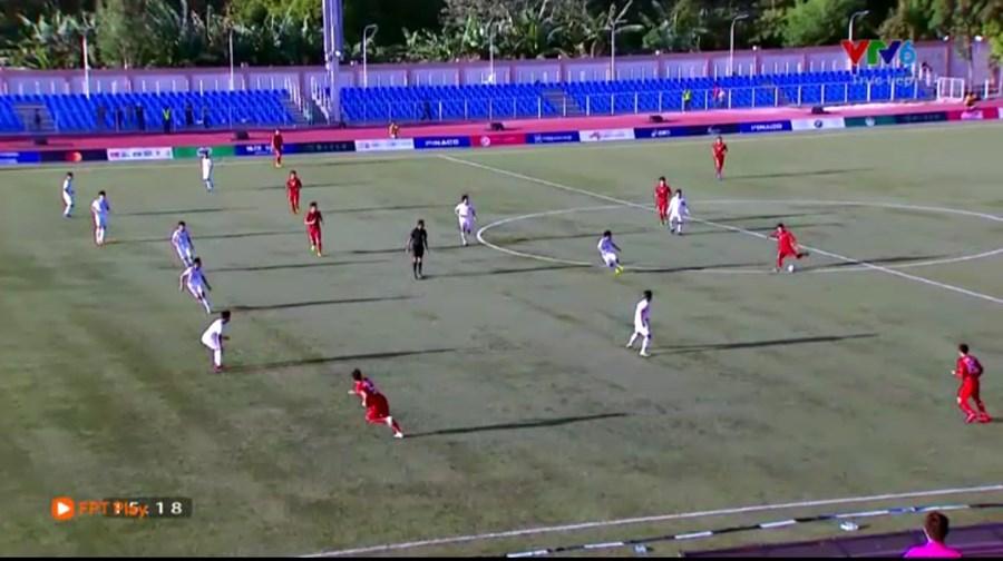 Đoàn Văn Hậu,U22 Việt Nam vs U22 Lào,U22 Việt Nam,HLV Park Hang Seo