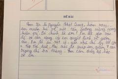 """Bài kiểm tra hài hước về """"tấm gương siêng năng"""" của học sinh lớp 6"""
