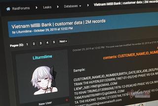 Cần làm gì khi thông tin tài khoản ngân hàng bị công khai trên mạng?