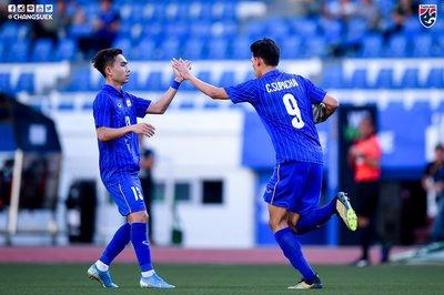 U22 Thái Lan vùng lên nã 7 bàn thắng vào lưới Brunei