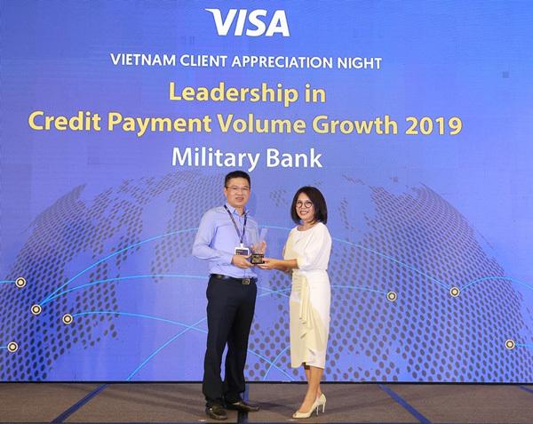 MB - ngân hàng dẫn đầu tốc độ tăng trưởng doanh số chi tiêu thẻ tín dụng