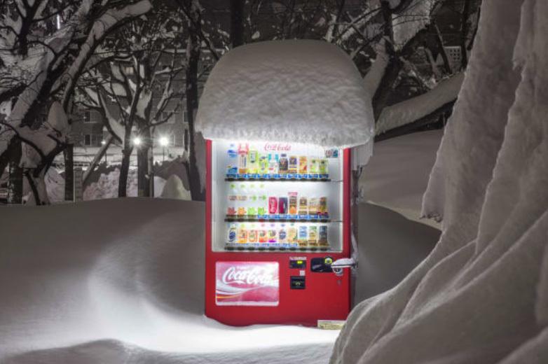 Những chiếc máy bán hàng cô đơn ở Nhật Bản