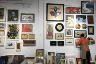 Fair offers affordable artworks