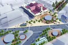 Roundabout near Ben Thanh Market to become public square