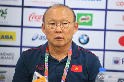 """HLV Park Hang Seo: """"U22 Việt Nam dồn hết sức thắng Indonesia"""""""