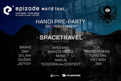 Epizode pre-party in Hanoi this weekend