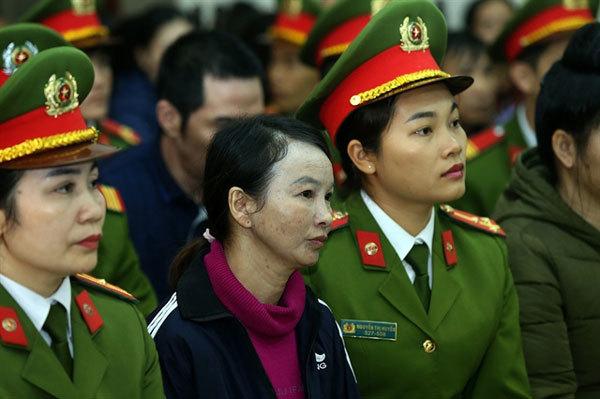Dien Bien,Cao My Duyen,mother of murdered girl,jailed