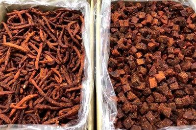Thịt bò khô 100 ngàn/kg, rùng mình câu trả lời của người bán