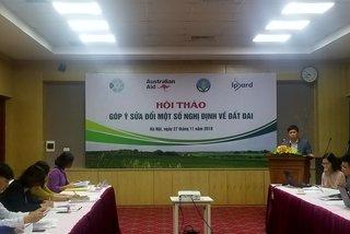 Institutional barriers restrict development of Vietnam farmland market