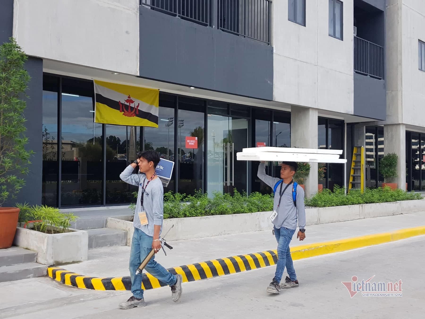 Cận cảnh đại bản doanh đoàn thể thao Việt Nam ở SEA Games