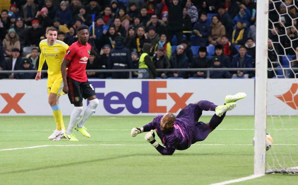 Đội hình trẻ MU thua ngược ở Europa League