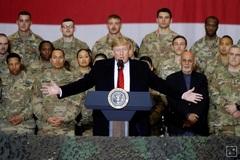 Ông Trump bất ngờ tới thăm Afghanistan