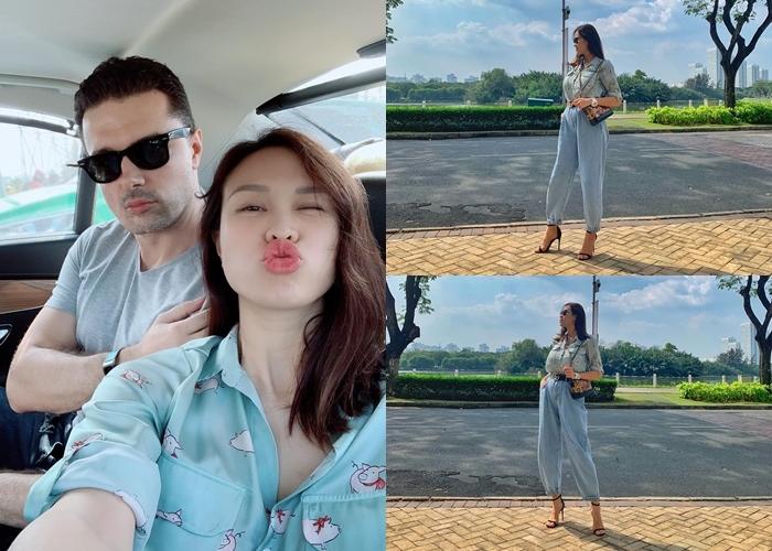 Vợ chồng Dương Khắc Linh, Lê Hiếu dự sinh nhật 36 tuổi của Đăng Khôi