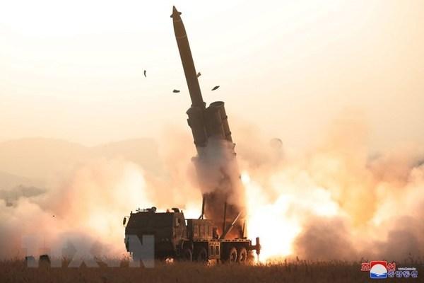 Triều Tiên,tên lửa Triều Tiên,Triều Tiên thử tên lửa