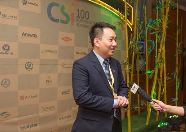 PNJ 4 lần liên tiếp vào Top 10 doanh nghiệp phát triển bền vững