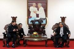 Vatican special envoy Archbishop Marek Zalewski meets An Giang leaders