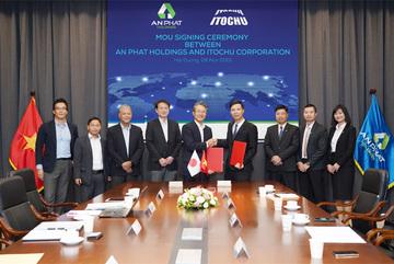 An Phát Holdings bắt tay đối tác Nhật phân phối sản phẩm sinh học phân hủy hoàn toàn