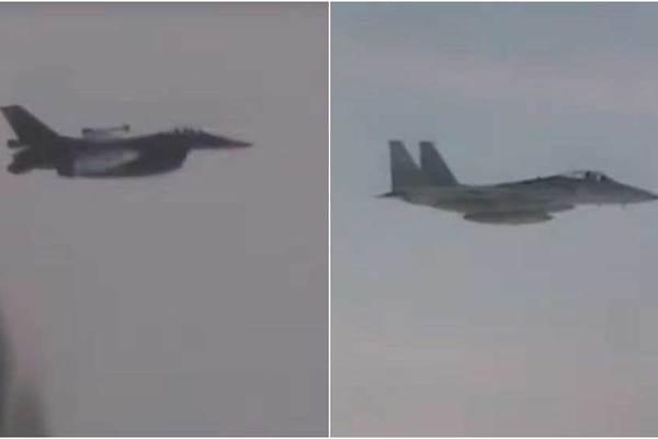 Chiến đấu cơ Nhật, Hàn kèm sát máy bay ném bom Nga
