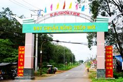 Nam Định, Đồng Nai dẫn đầu phong trào nông thôn mới