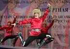 Russian folk dance ensemble's performance in Hanoi