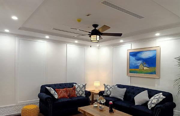 quạt trần,xu hướng nội thất,trang trí nội thất