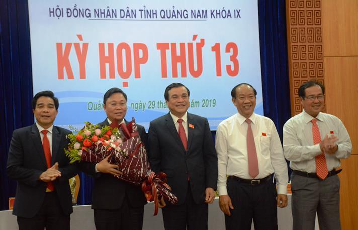 Ông Lê Trí Thanh được bầu giữ chức Chủ tịch tỉnh Quảng Nam