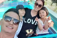 Jennifer Phạm nghe chồng nghỉ việc, đi chơi dưỡng thai lần 4