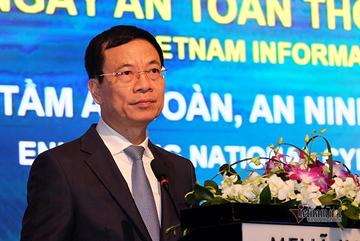Toàn văn phát biểu của Bộ trưởng Nguyễn Mạnh Hùng tại hội thảo Ngày ATTT 2019