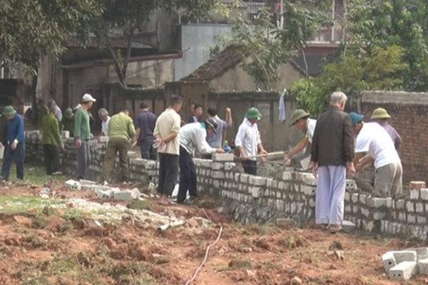 Ninh Thuận: Nhiều hộ dân còn nghèo nhưng vẫn tự nguyện hiến đất để xây dựng nông thôn mới