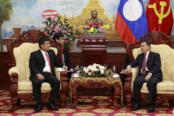 Quan hệ đặc biệt Việt – Lào phát triển tốt đẹp