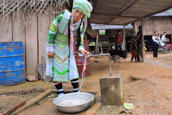 Thái Nguyên: 93% số dân nông thôn được sử dụng nước sinh hoạt hợp vệ sinh