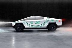 Cảnh sát Dubai tậu xe Tesla Cybertruck dán tem cực độc