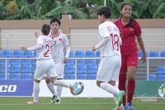 Thắng kiểu tennis, nữ Việt Nam đoạt vé bán kết