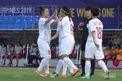 Video bàn thắng nữ Việt Nam 6-0 nữ Indonesia