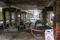 Seven major infrastructure projects lag behind schedule