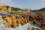 Lễ nhập linh cố trưởng lão Hòa thượng Thích Thanh Tứ về bảo tháp Viên Quang