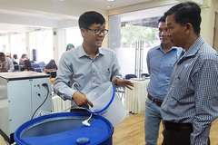 Doctor invents water purifier using CDI technology, a first in Vietnam