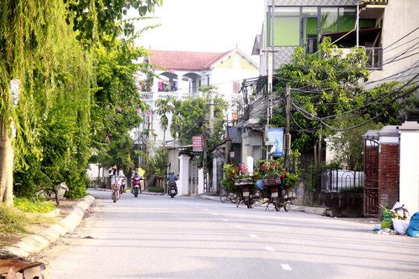 Phú Thị hướng tới khu dân cư nông thôn mới kiểu mẫu