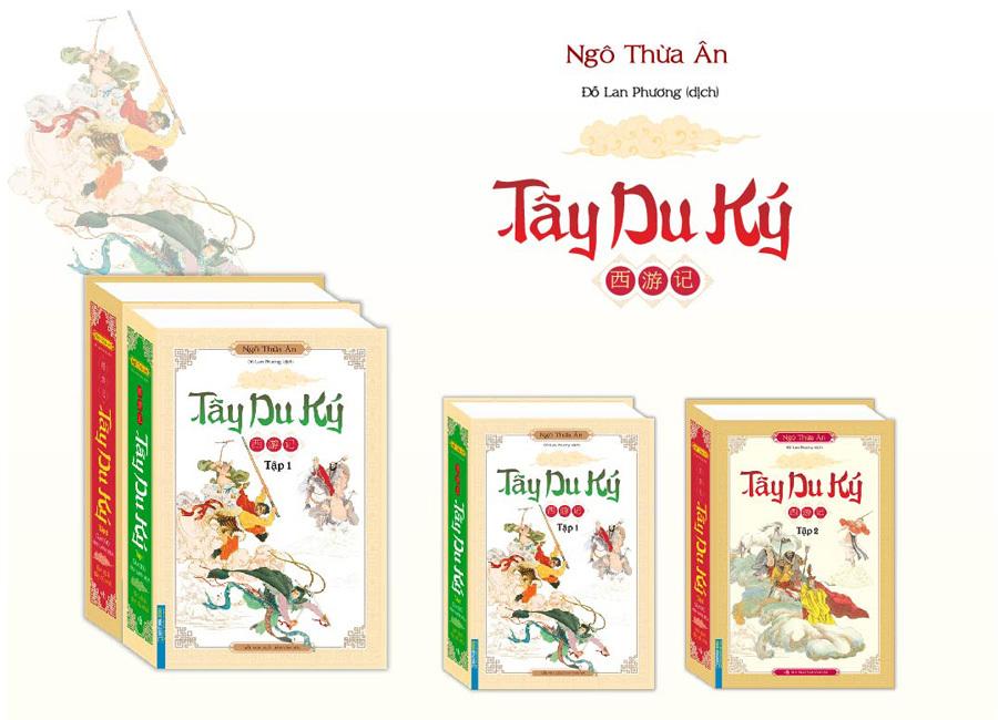 Tiểu thuyết 'Tây Du Ký' ra mắt bản dịch mới
