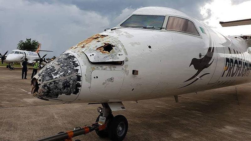 Máy bay,tai nạn máy bay,sét đánh