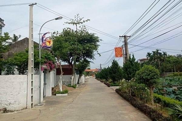 Huyện Vĩnh Lộc đạt chuẩn nông thôn mới năm 2019