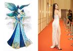Hé lộ bản thiết kế trang phục của Á hậu Thúy An khi tham dự Miss Intercontinental