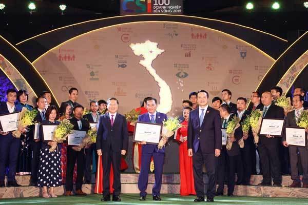 Yến sào Khánh Hòa vào top 100 Doanh nghiệp phát triển bền vững năm 2019