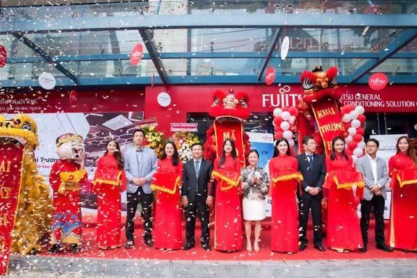 Đã có showroom điều hòa Fujitsu ở Việt Nam
