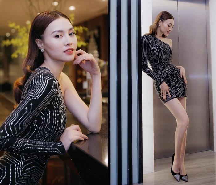 Bích Phương, Hương Giang diện đầm nóng bỏng