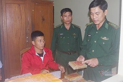 25 bánh heroin trôi dạt vào bờ biển Quảng Nam