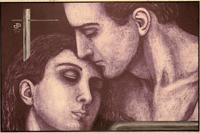 Ra mắt bộ tranh 'Nụ hôn' của họa sĩ Dương Thu Phương