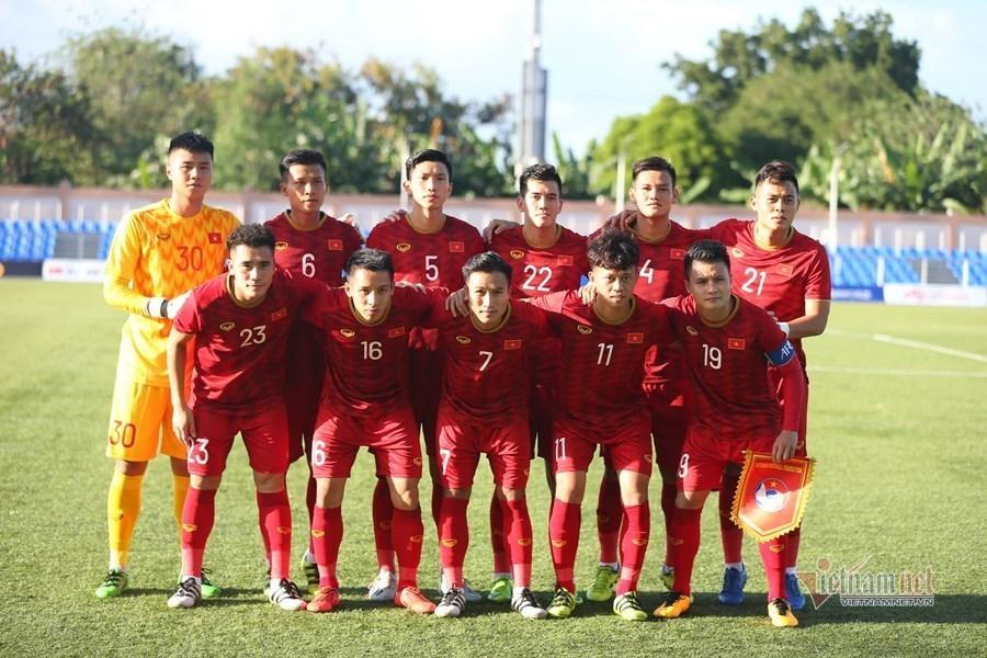 Đội hình ra sân U22 Việt Nam vs U22 Indonesia: Tấn Sinh, Hoàng Đức đá chính