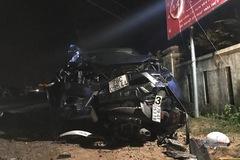 Xe bán tải tông loạt xe máy, 4 người chết ở Phú Yên