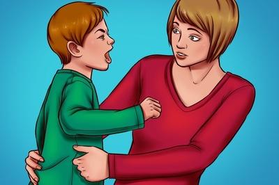 Cách xử lý trước những hành động quá khích của trẻ